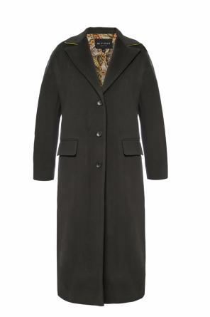 Long coat with open flaps od Etro