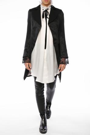 Coat with lace cuffs od Ann Demeulemeester