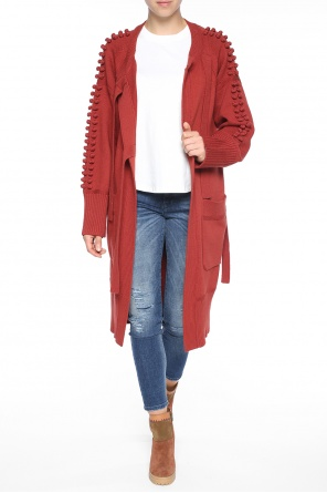 Cardigan with braided accents od Chloe