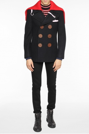 Short double-breasted coat od Givenchy