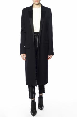 Single-vented coat od Haider Ackermann