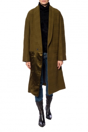 Ribbed coat od Haider Ackermann