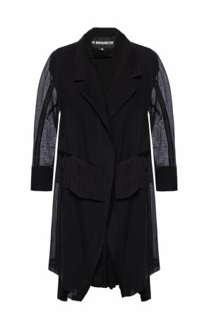 Sheer coat with vest effect od Ann Demeulemeester