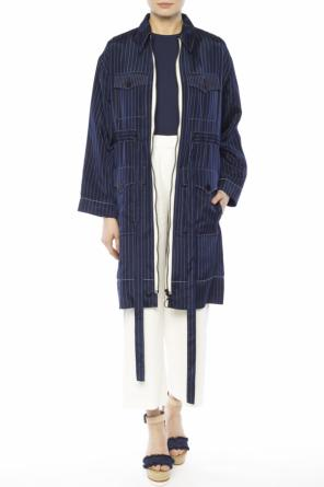 Striped coat od Sonia Rykiel