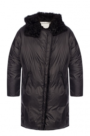 Quilted hooded coat od Yves Salomon