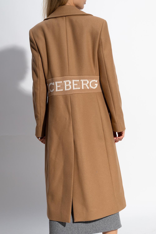 Iceberg Coat with elastic waist