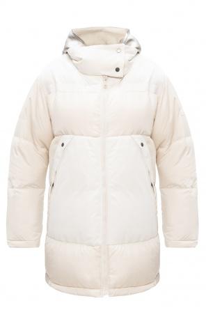 Down jacket with logo od Yves Salomon