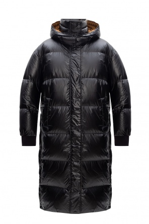 Down coat with detachable hood od Yves Salomon