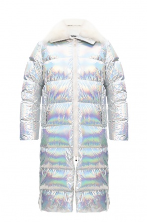 Quilted down coat od Yves Salomon