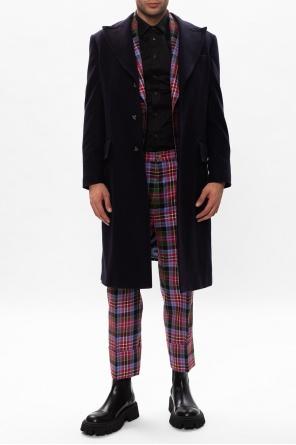 Wool coat w/ peaked lapels od Vivienne Westwood
