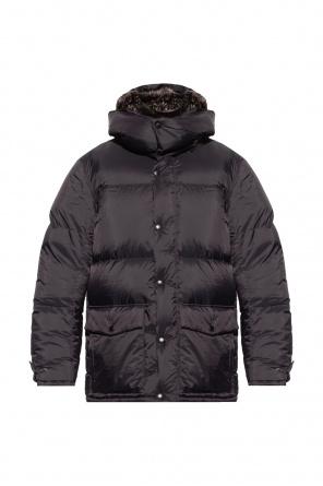 Down jacket with fox fur od Yves Salomon