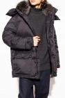 Yves Salomon Down jacket with fox fur