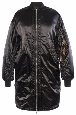 Long bomber jacket od MSGM