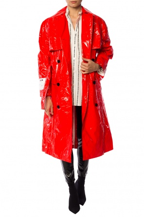 Double-breasted trench coat od MSGM