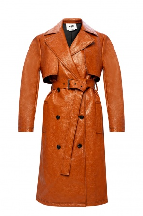 Double-breasted coat od MSGM