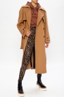 MSGM Belted wool coat