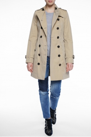 'the sandringham' double-breasted trench coat od Burberry