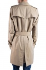 Burberry Double-Breasted 'Kensington' Trench Coat