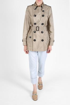'kerringdale' short double-breasted coat od Burberry