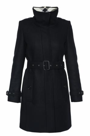 Single-vented coat od Burberry
