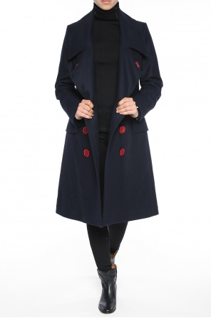 Double-breasted coat od Burberry