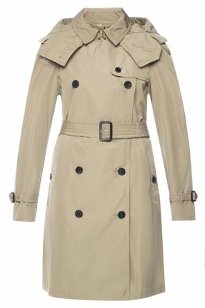 'amberford' double-breasted trench coat od Burberry