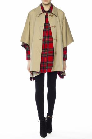 Reversible cape od Burberry