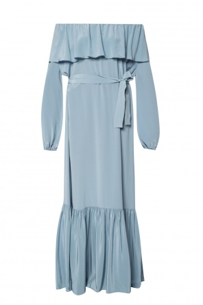 Belted silk dress od The Row
