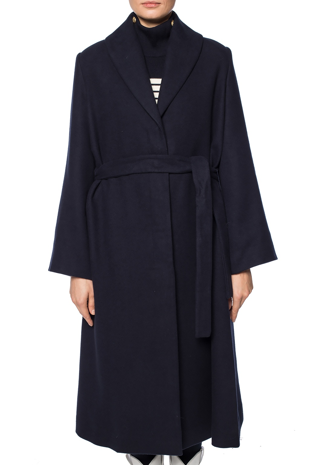 The Row Coat with shawl lepels