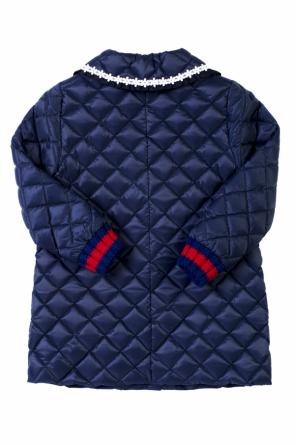 Quilted coat od Gucci Kids