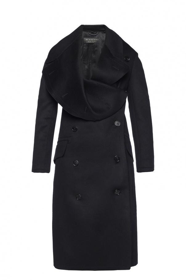 Burberry Dwurzędowy płaszcz