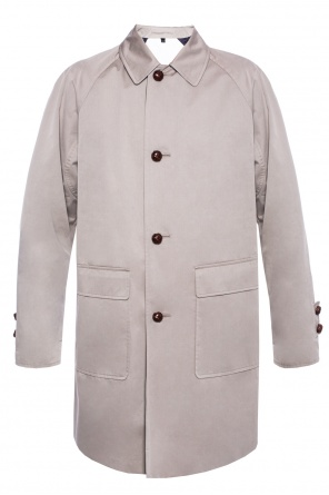 Coat with spread collar od Burberry