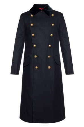 Double-breasted coat with vent od Burberry