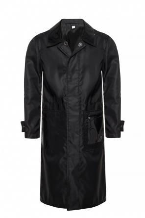 Coat with decorative collar od Burberry