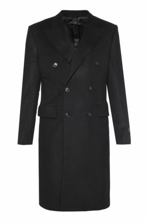Double-breasted coat od Balenciaga