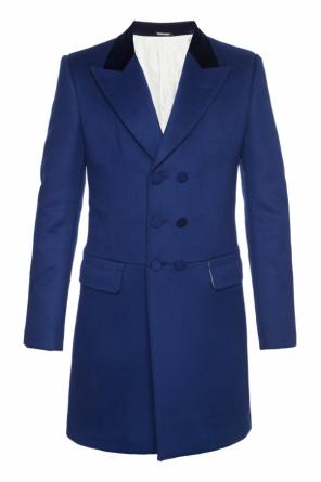 Single-vented coat od Alexander McQueen