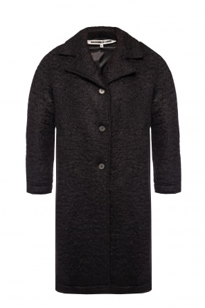 Notch lapel coat od McQ Alexander McQueen