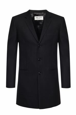 Wool coat with pockets od Saint Laurent