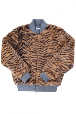 Fur bomber jacket od Stella McCartney Kids