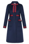 Coat with decorative bows od Gucci