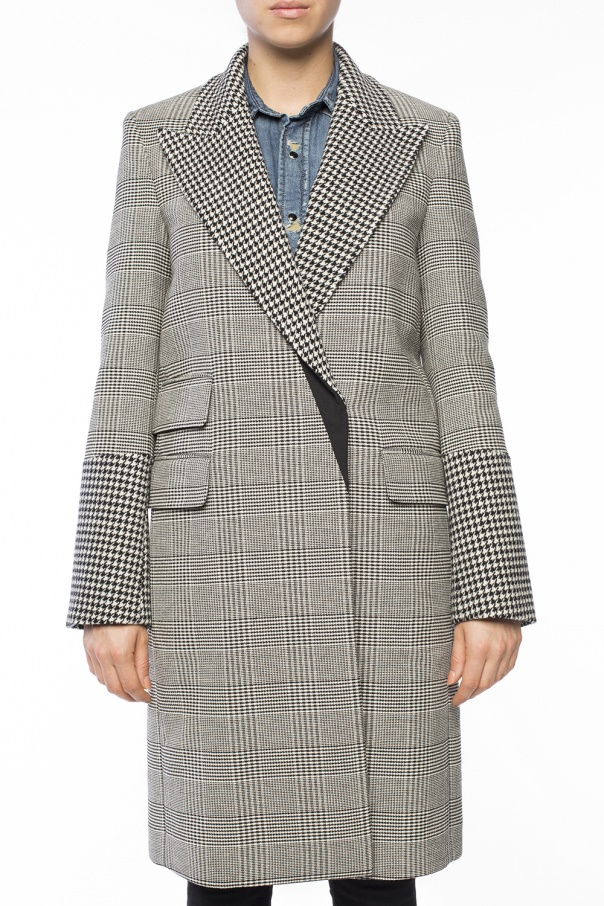 Checked coat od Stella McCartney