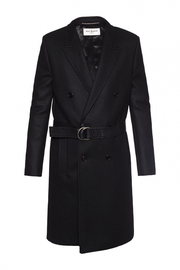 f17661e26f5 Double-breasted coat Saint Laurent - Vitkac shop online