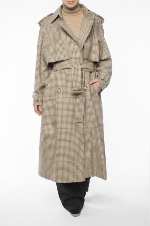 Checked double-breasted coat od Stella McCartney