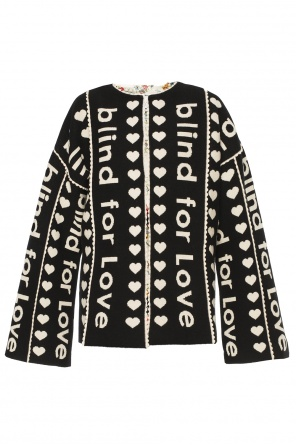 Embroidered coat od Gucci