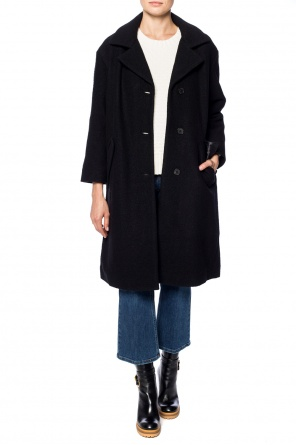 Coat with notch lapels od McQ Alexander McQueen