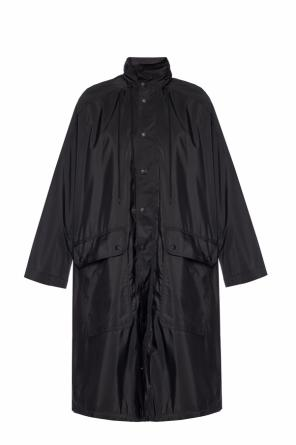 Hooded coat with logo od Balenciaga