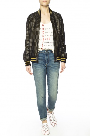 Bomber jacket with stars motif od Gucci