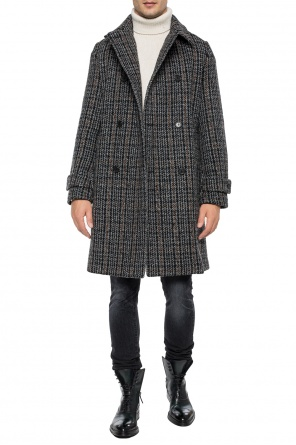 Double-breasted checkered coat od Stella McCartney