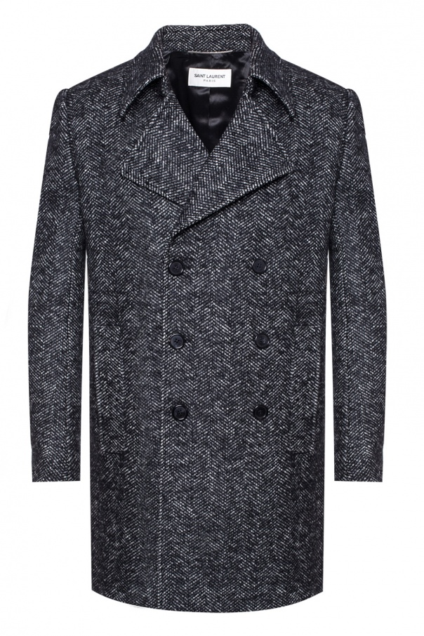 Double-breasted coat od Saint Laurent