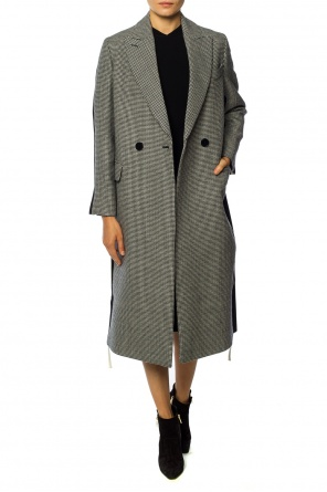 Embroidered double-breasted coat od Stella McCartney